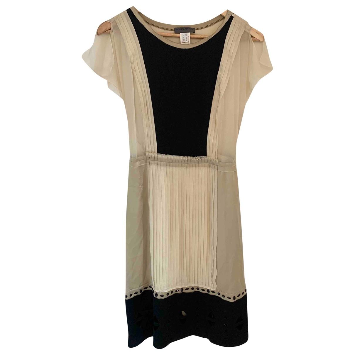 Alberta Ferretti \N Black Silk dress for Women 36 FR