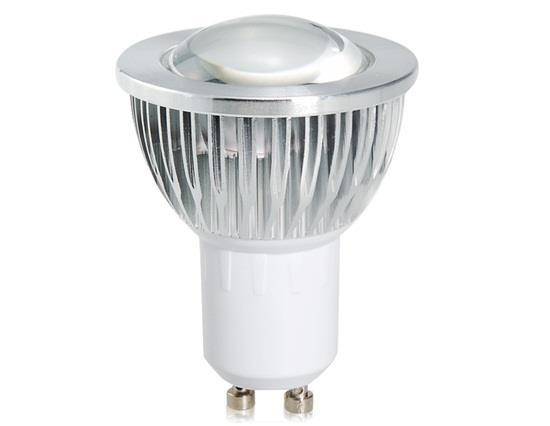 GU10 5W 85-265V 3200K Warm White 500LM COB LED Spot Bulb