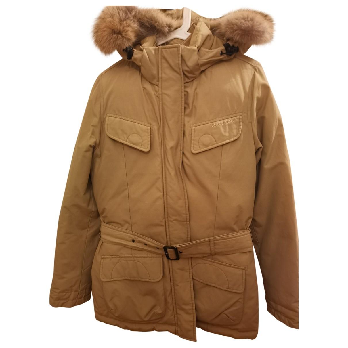 Woolrich \N Beige coat for Women S International