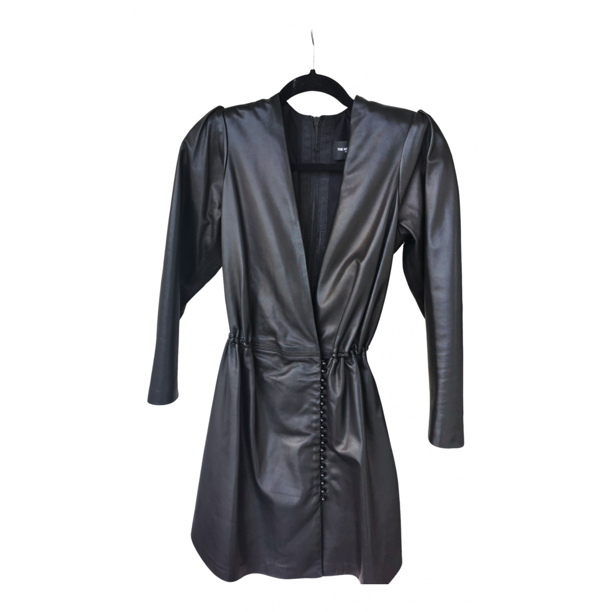The Kooples Fall Winter 2019 Black Leather dress for Women 36 FR