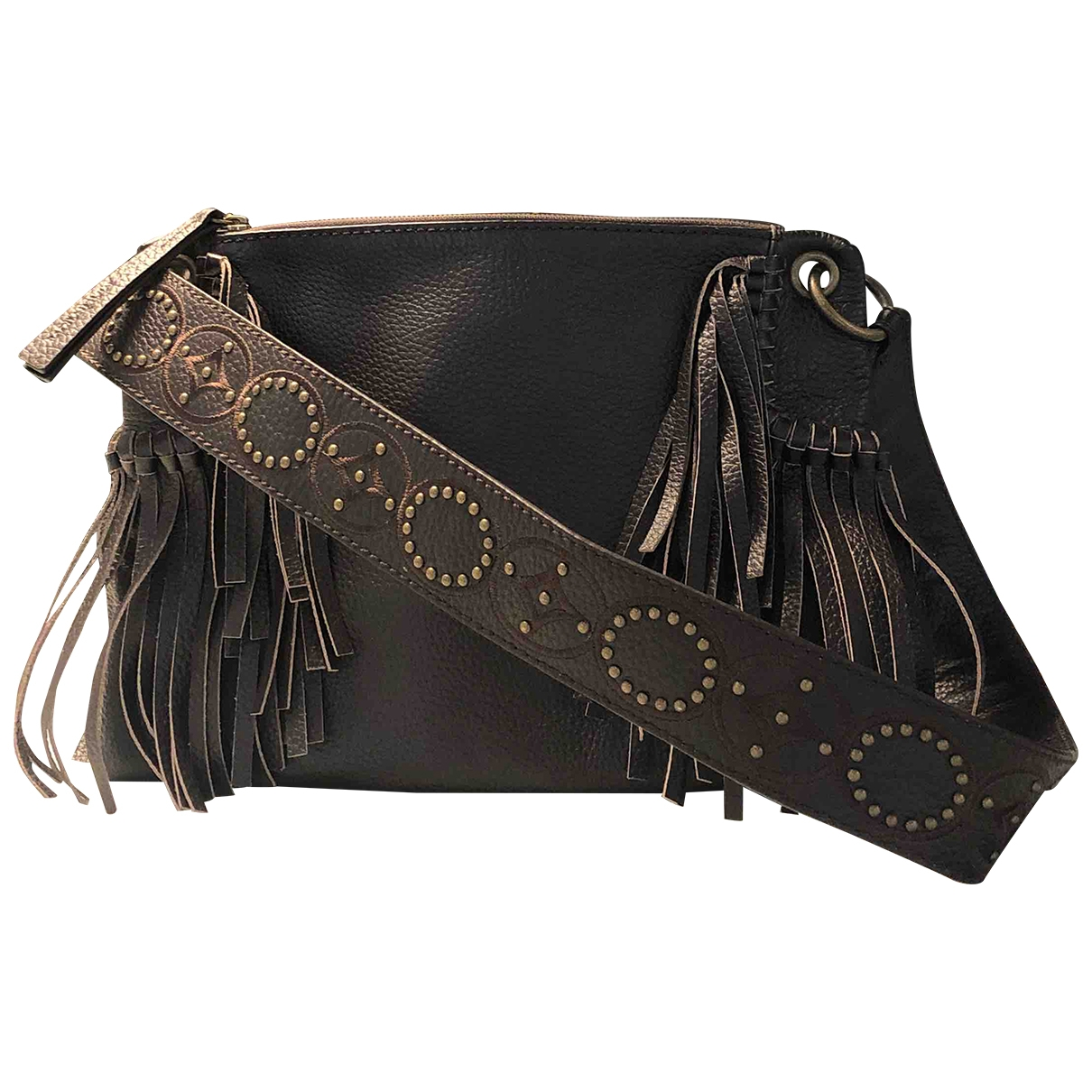 Maliparmi \N Brown Leather handbag for Women \N