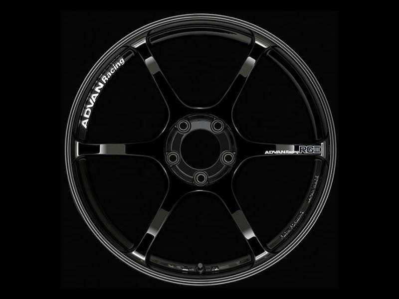 Advan RGIII Wheel 18x10.5 5x114.3 25mm Gloss Black
