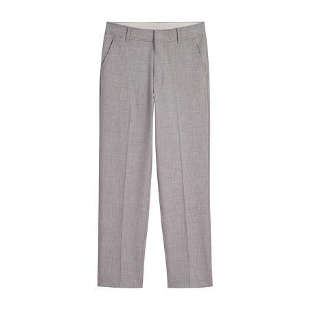 Van Heusen Big Boys Suit Pants, 8 , Gray