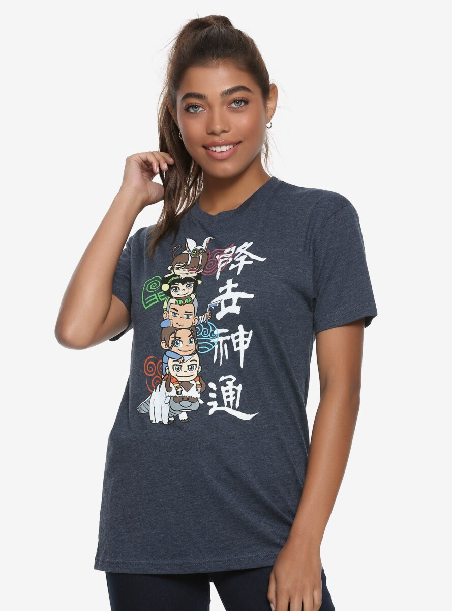 Avatar: The Last Airbender Stack Womens Tee - BoxLunch Exclusive