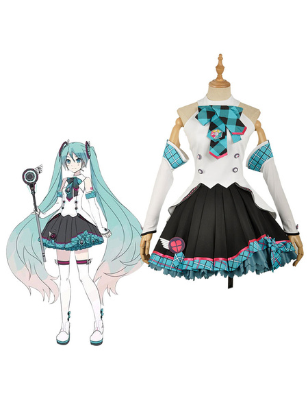 Milanoo 2017 Vocaloid Hatsune Miku Concert Version Cosplay Costume