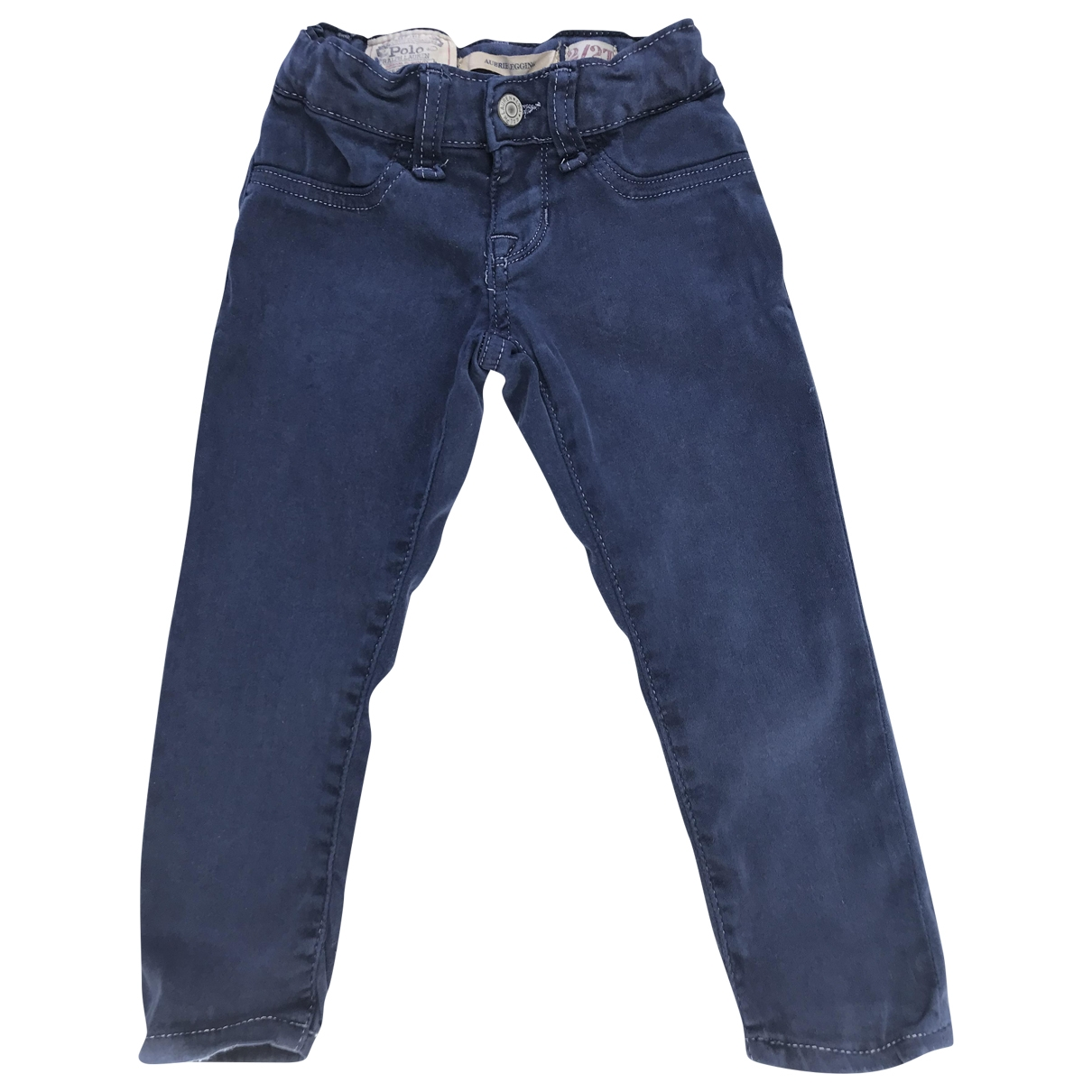 Ralph Lauren \N Blue Cotton Trousers for Kids 2 years - up to 86cm FR