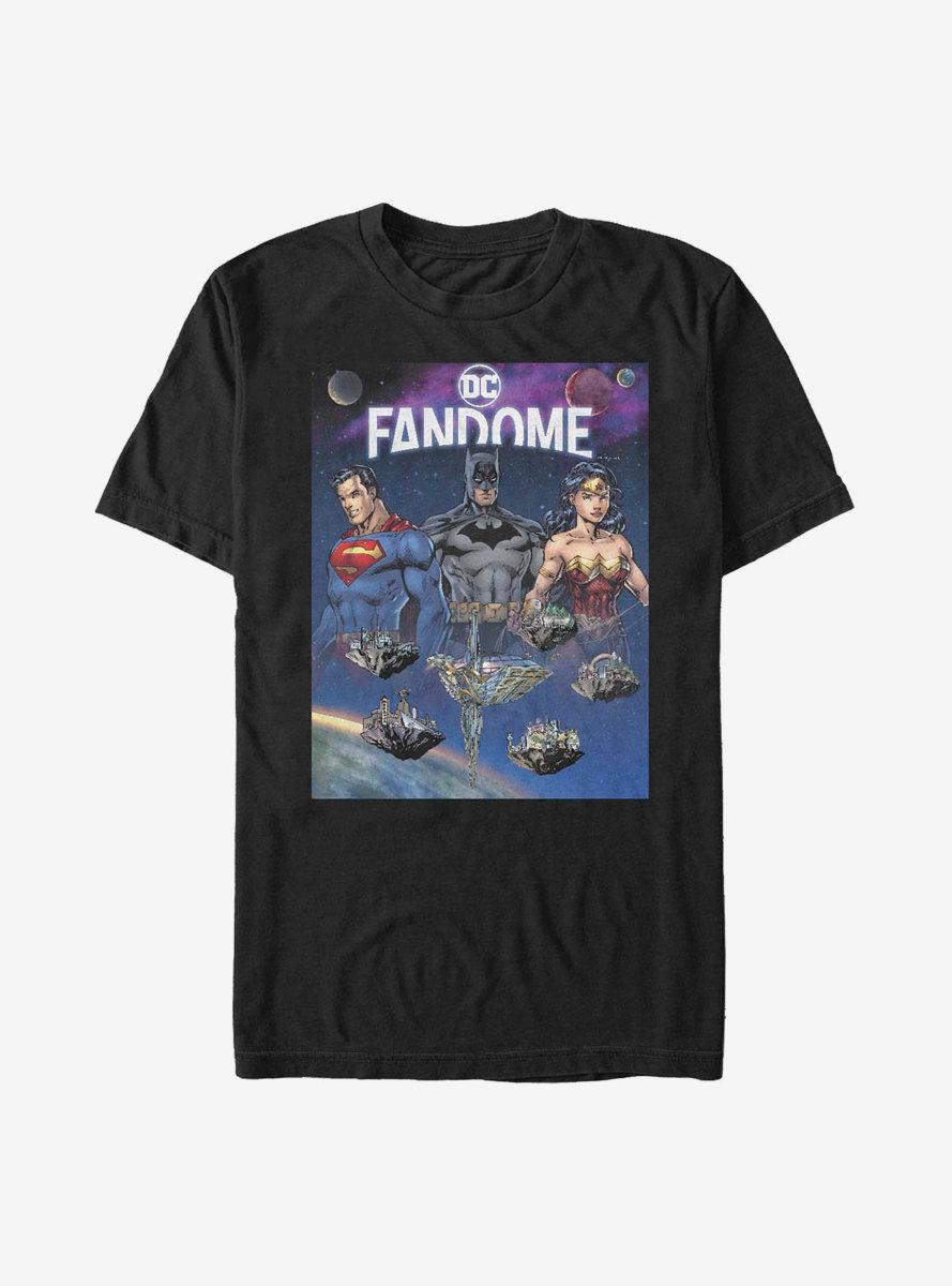 DC Comics Justice League Heroes T-Shirt DC Fandome Event Exclusive