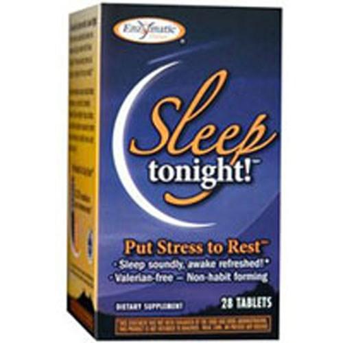 Sleep Tonight Stress Reducing Sleep Aid 28 tabs by Enzymatic Therapy