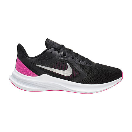 Nike Downshifter 10 Womens Running Shoes, 7 Medium, Black