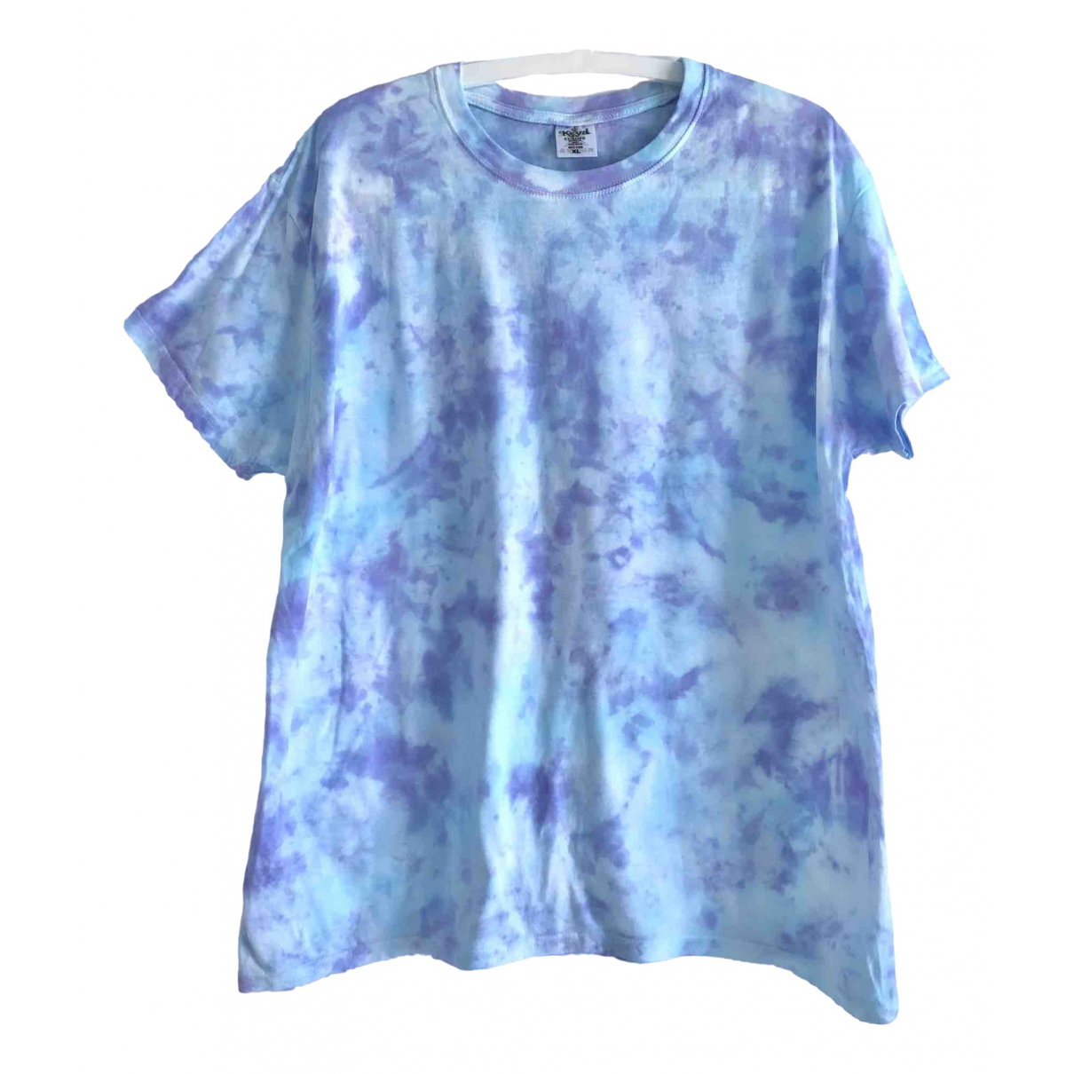 Non Signé / Unsigned \N Blue Cotton  top for Women XXL International