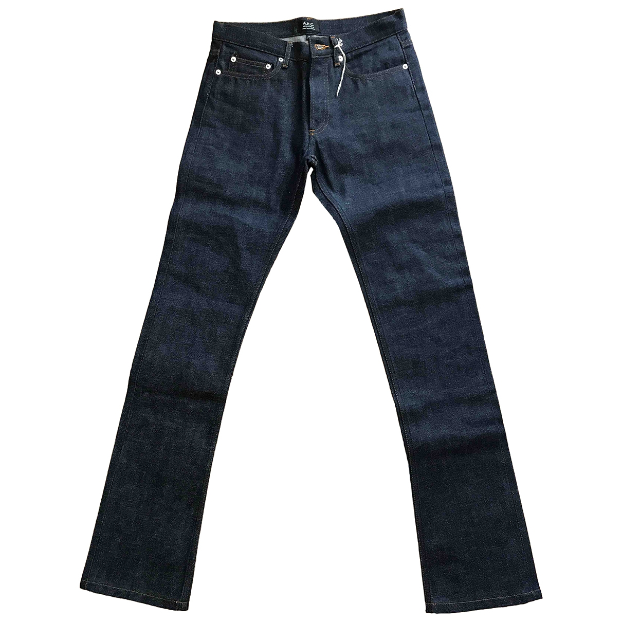 Apc Jean etroit standard Blue Denim - Jeans Jeans for Women 28 US