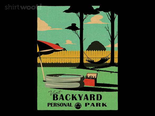 Visit Backyard T Shirt