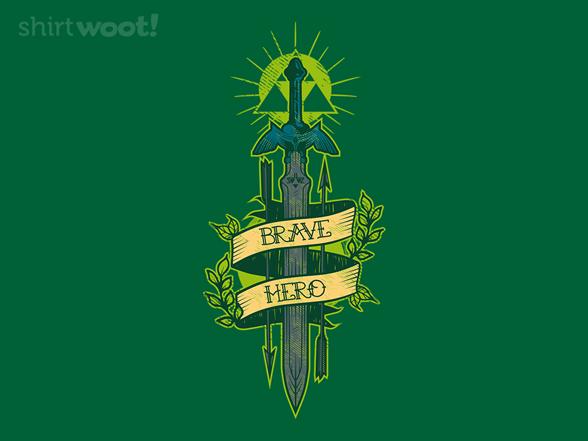 Brave Hero T Shirt