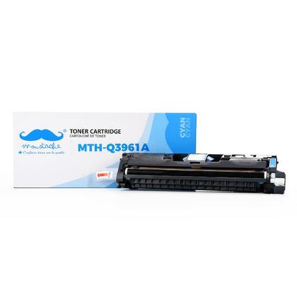 Compatible HP 122A Q3961A cartouche de toner cyan
