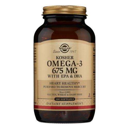 Omega-3 with EPA & DHA 100 Softgels by Solgar