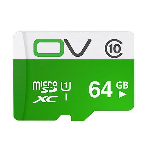 OV 64GB Micro SD Card Memory Card Class10 Mobile Phone Memory Card - Green