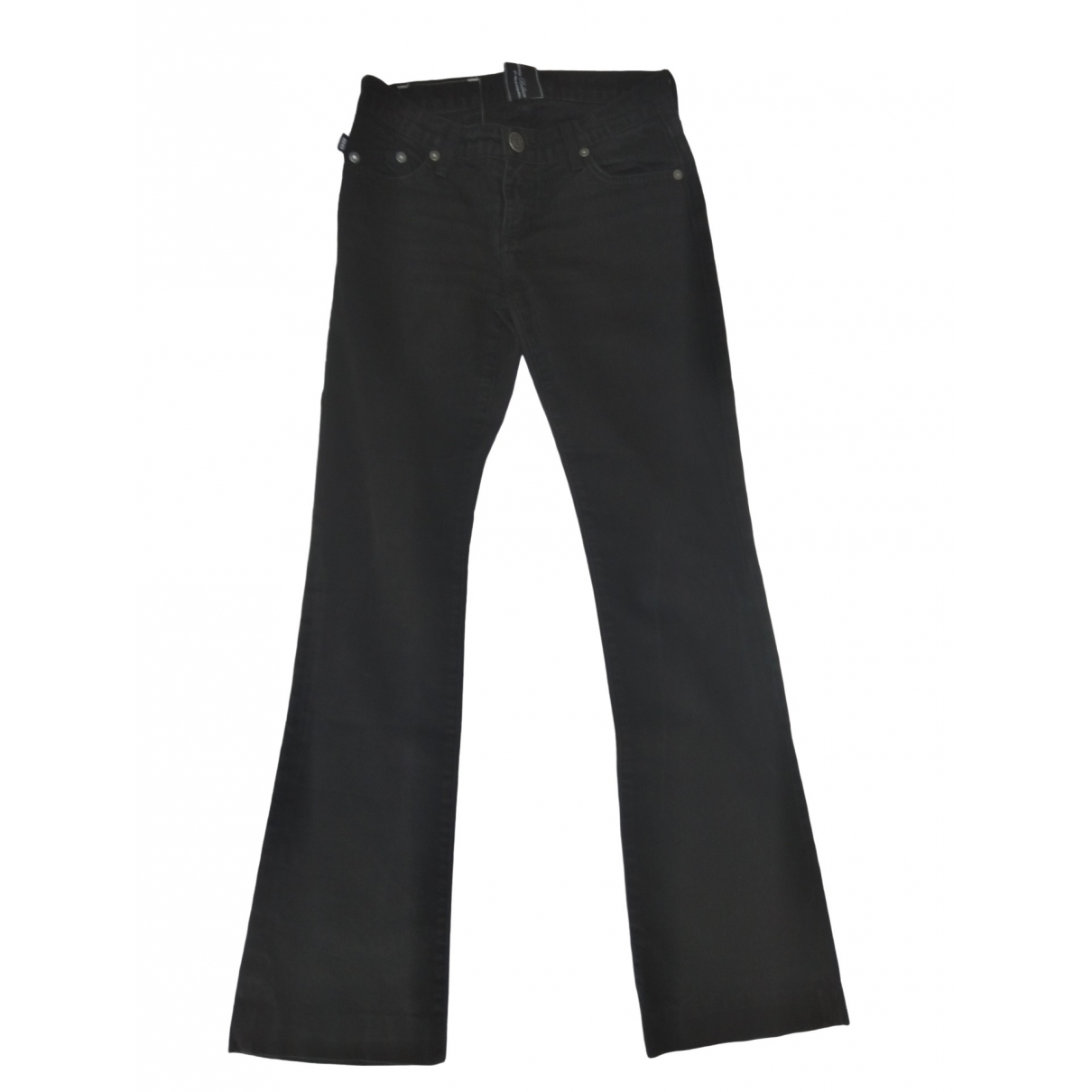 Victoria Beckham \N Black Cotton Jeans for Women 25 US