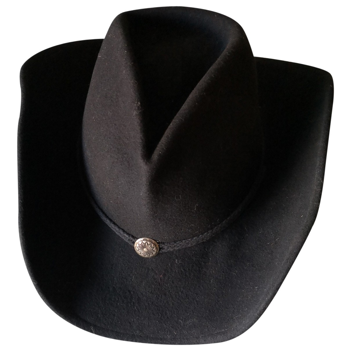 Non Signé / Unsigned \N Black hat for Women L International
