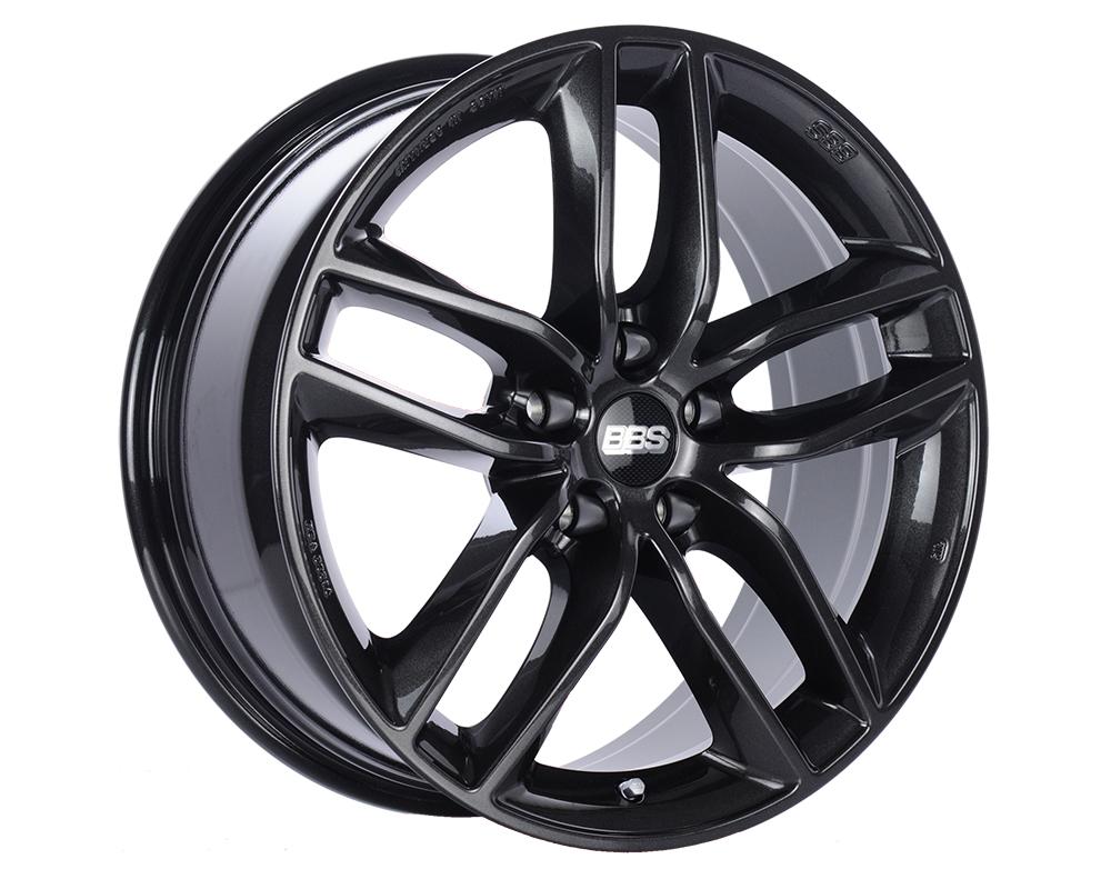 BBS SX Wheel 18x8 5x120 30mm Crystal Black Metallic