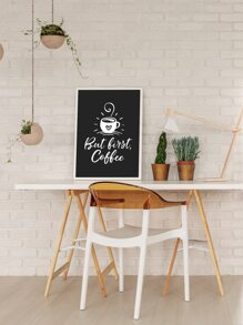 Coffee Print Wall Painting Without Frame