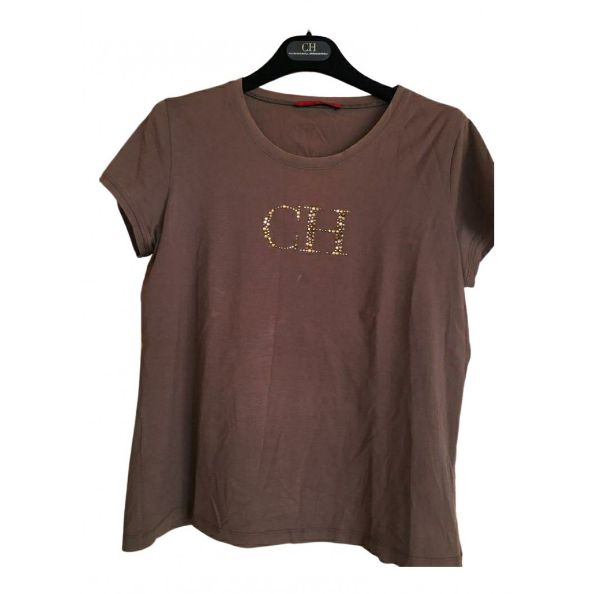 Carolina Herrera \N Brown Cotton  top for Women 44 FR