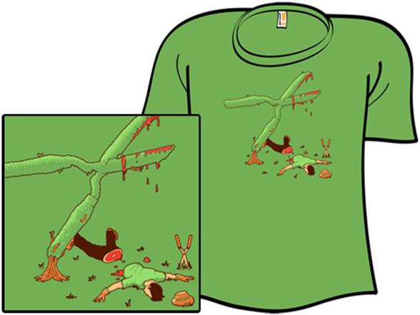 Shear Bad Luck T Shirt