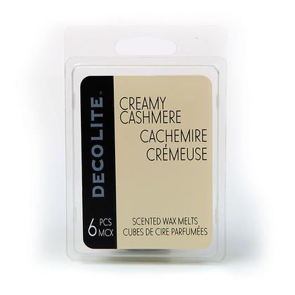 Cire parfumée fond 6 Cube, Cachemire crémeux, 1Pc