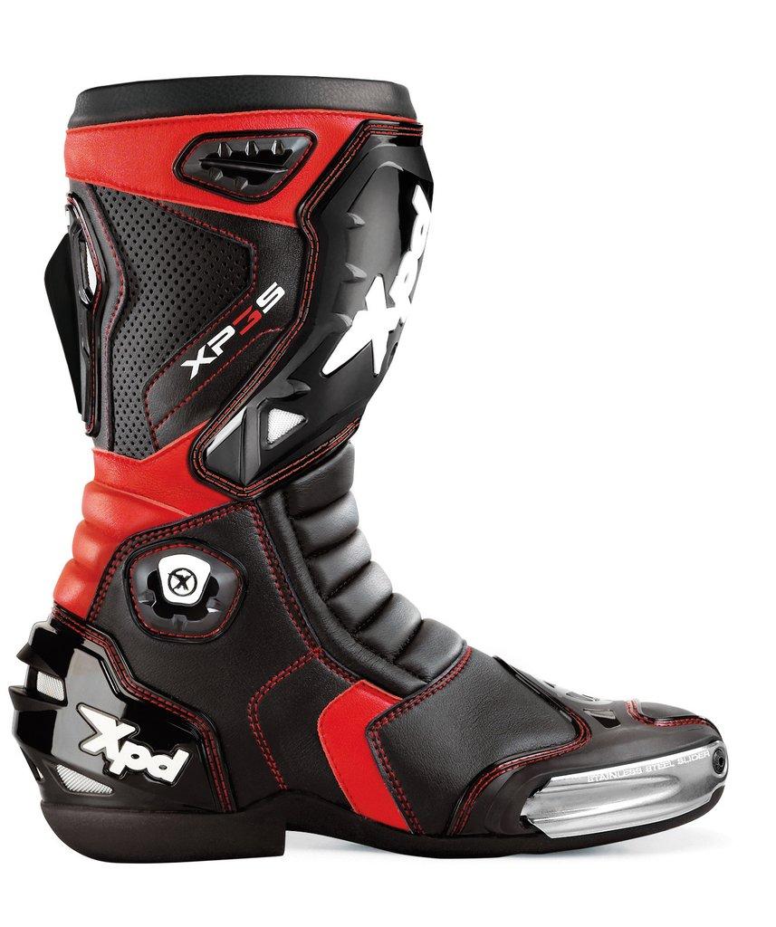 XPD XP3-S Botas Negro Rojo 40