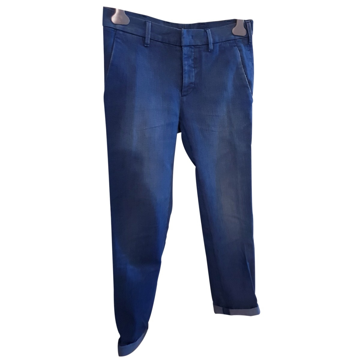 Prada \N Blue Cotton Jeans for Men 29 US