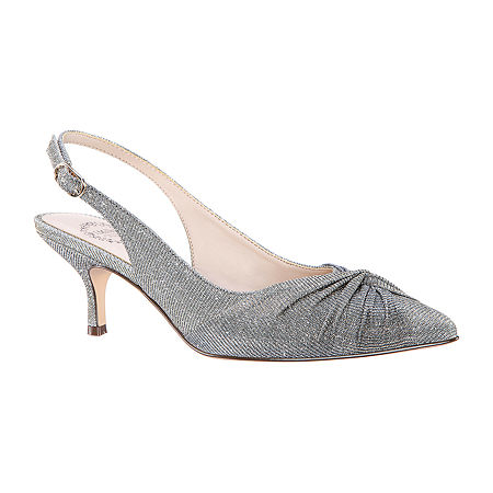 I. Miller Womens Tinley Pointed Toe Cone Hee lPumps, 6 Medium, Gray
