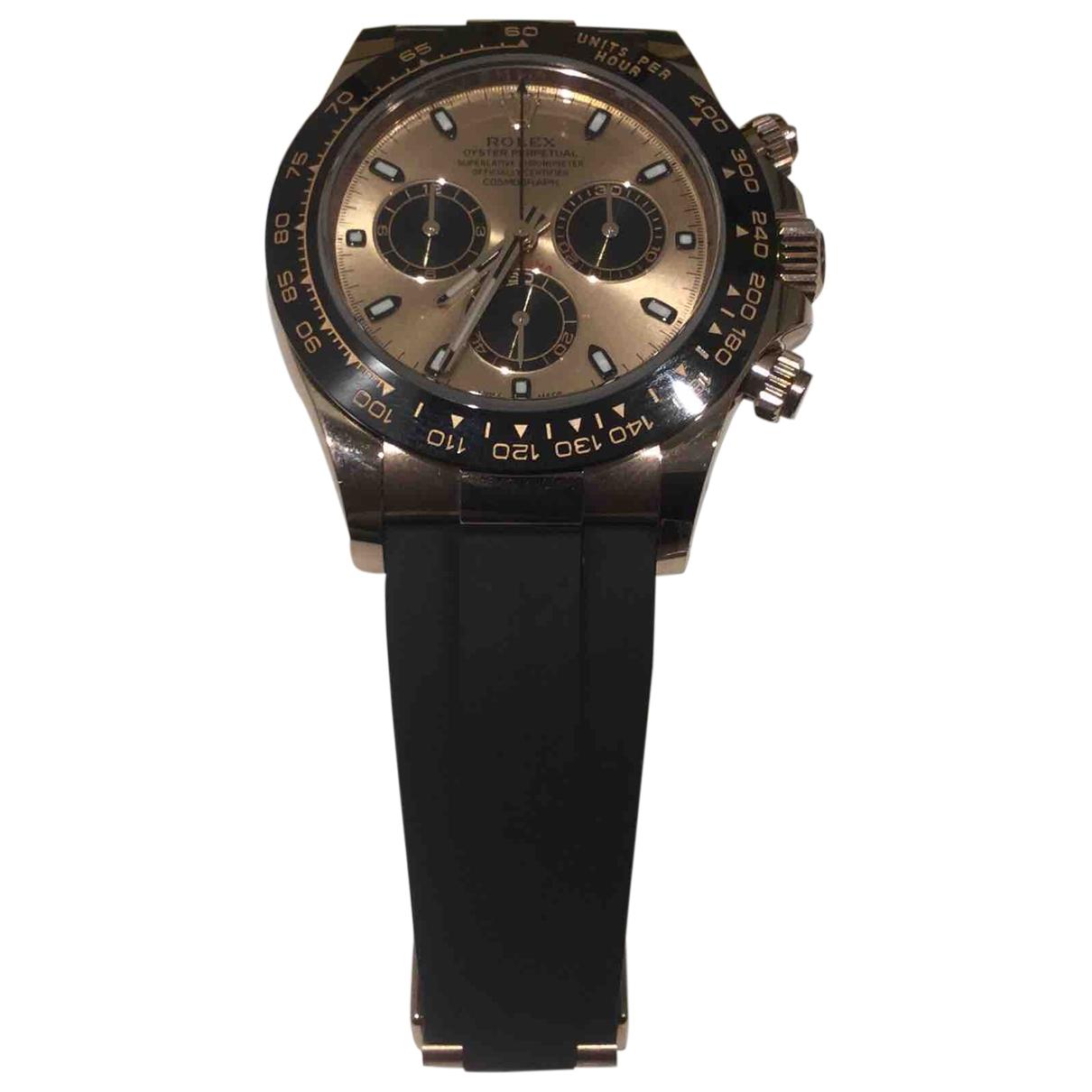 Rolex Daytona Pink Pink gold watch for Men \N