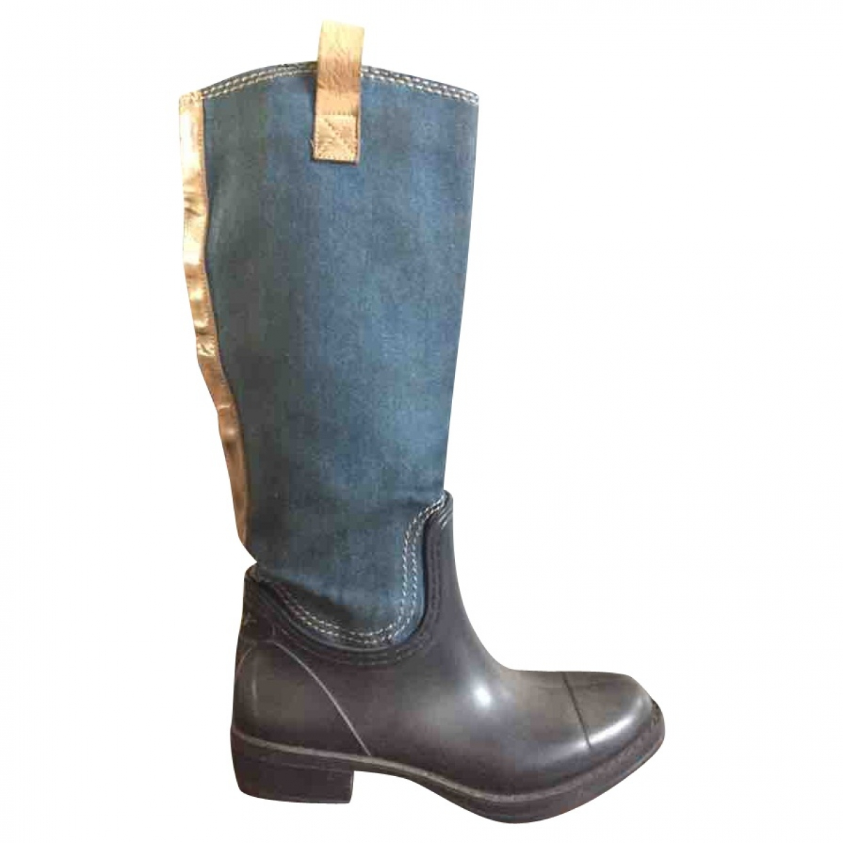 Levi's \N Blue Cloth Boots for Women 38 EU
