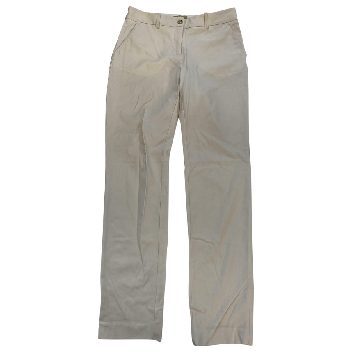 Michael Kors \N White Trousers for Women 2 US