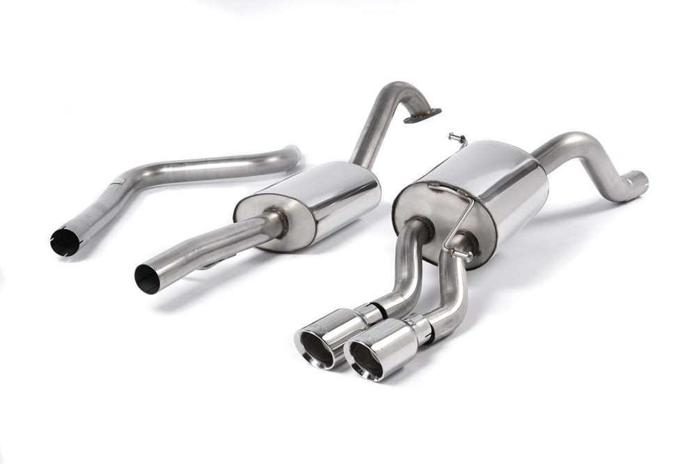 Milltek SSXFD108 Resonated Catback Exhaust System Ford Fiesta 1.0T EcoBoost (100 | 125 | 140PS) 13-19