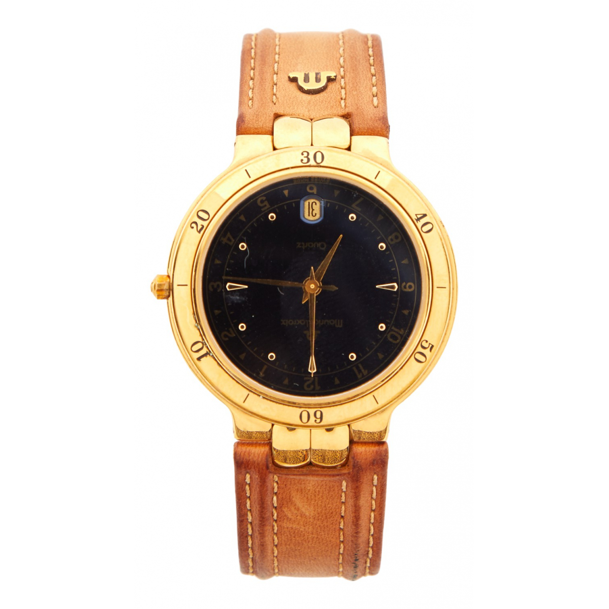 Maurice Lacroix \N Camel Gold plated watch for Women \N