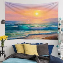 Oil Painting Pattern Tapestry