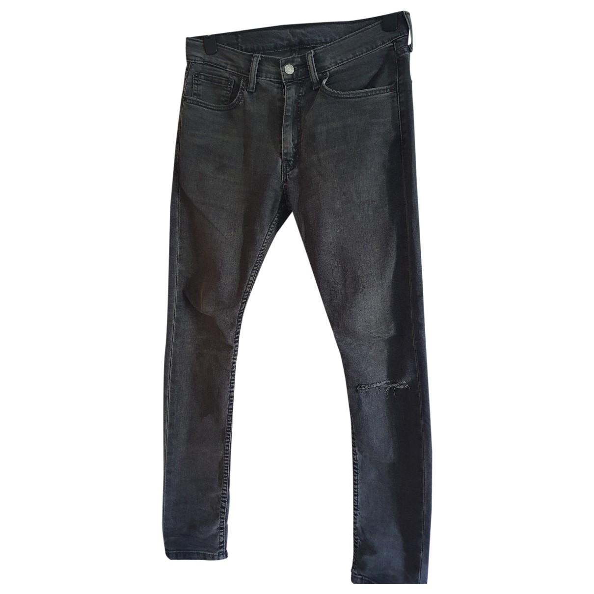 Levi's 519 Grey Cotton Jeans for Men 33 US