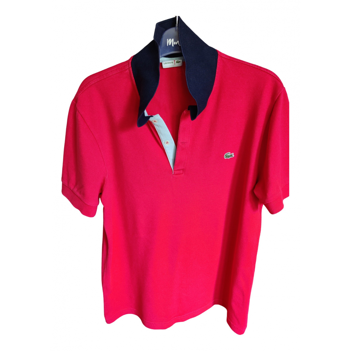 Lacoste \N Red Cotton Polo shirts for Men M International