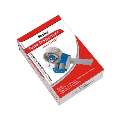 Foska® Distributeur de ruban adhésif robuste en plastique, pour 1 ruban