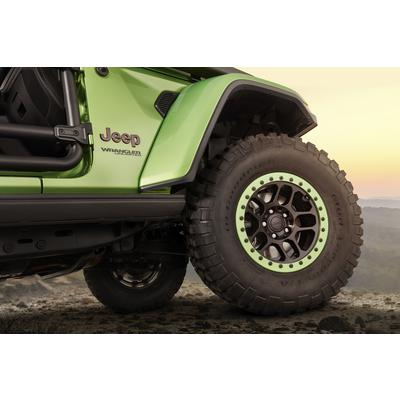 Jeep Beadlock Capable, 17x8.5 Wheel with 5 on 5 Bolt Pattern - Black - 77072466AB