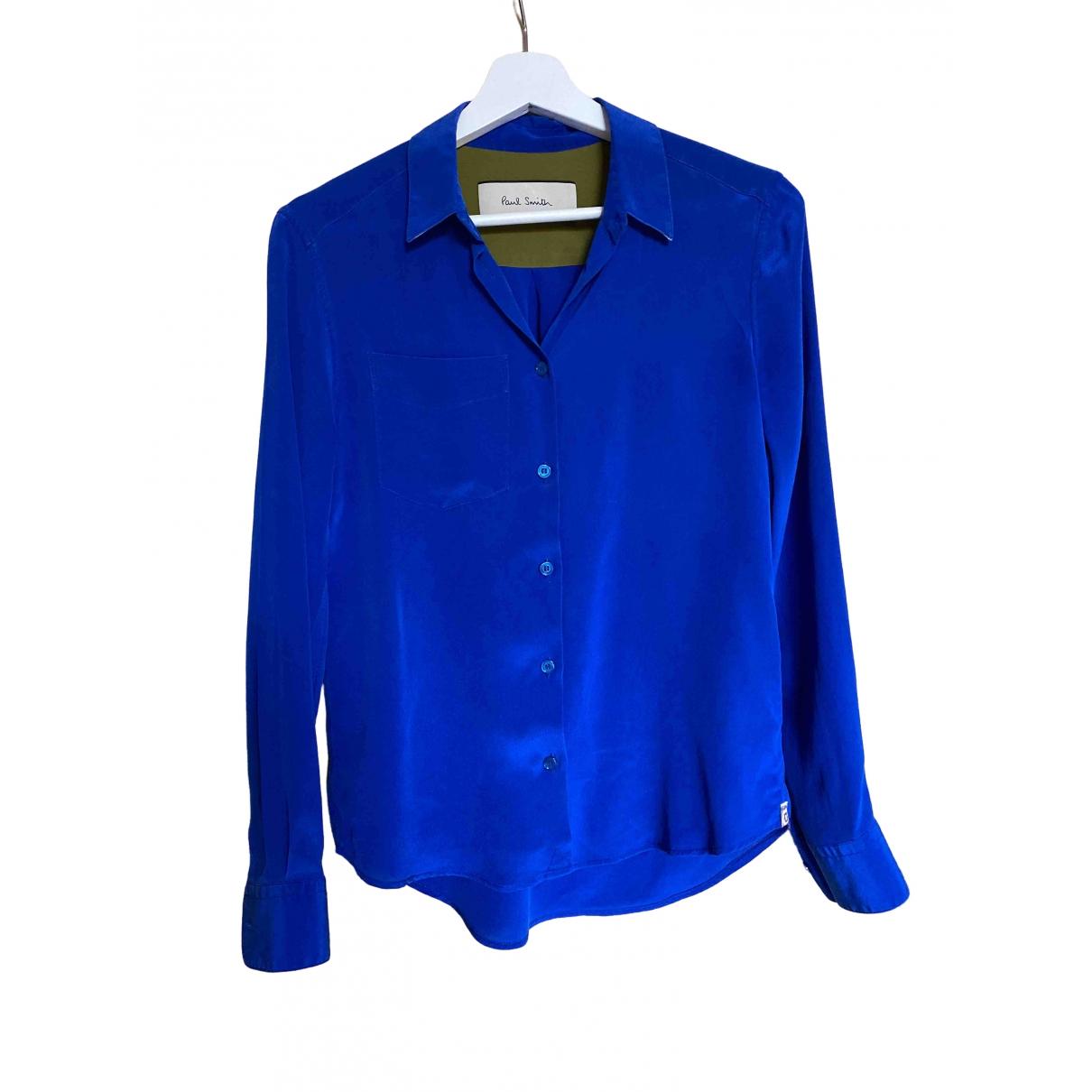 Paul Smith \N Blue Silk  top for Women 40 IT