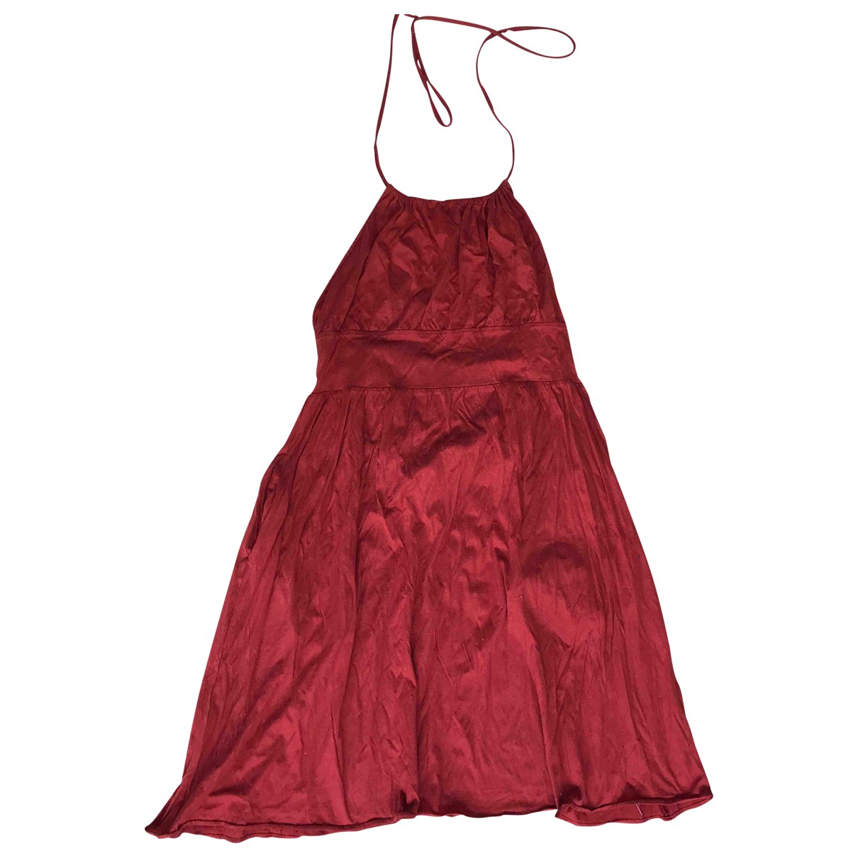 Eres \N Red Cotton dress for Women 34 FR