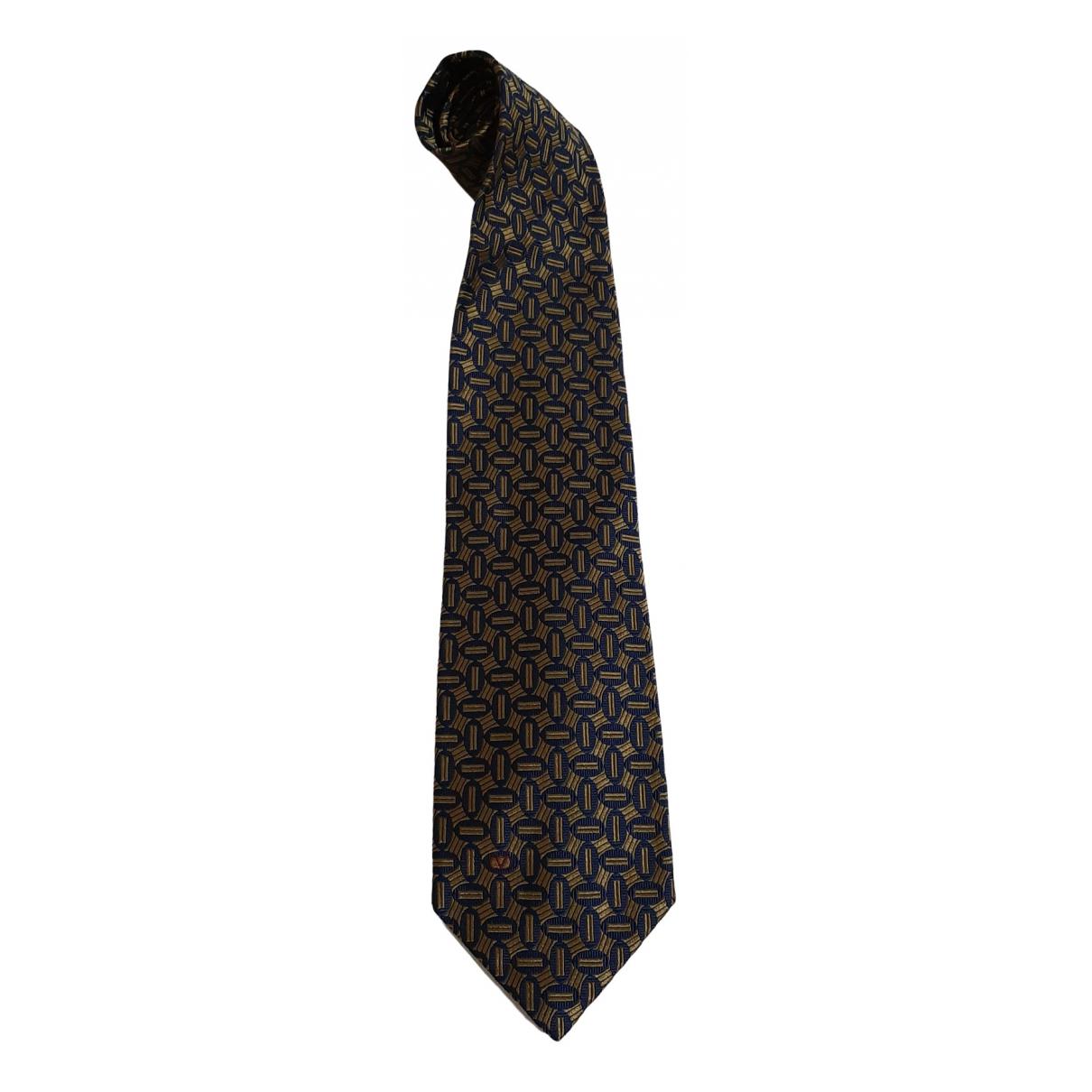 Valentino Garavani \N Beige Silk Ties for Men \N