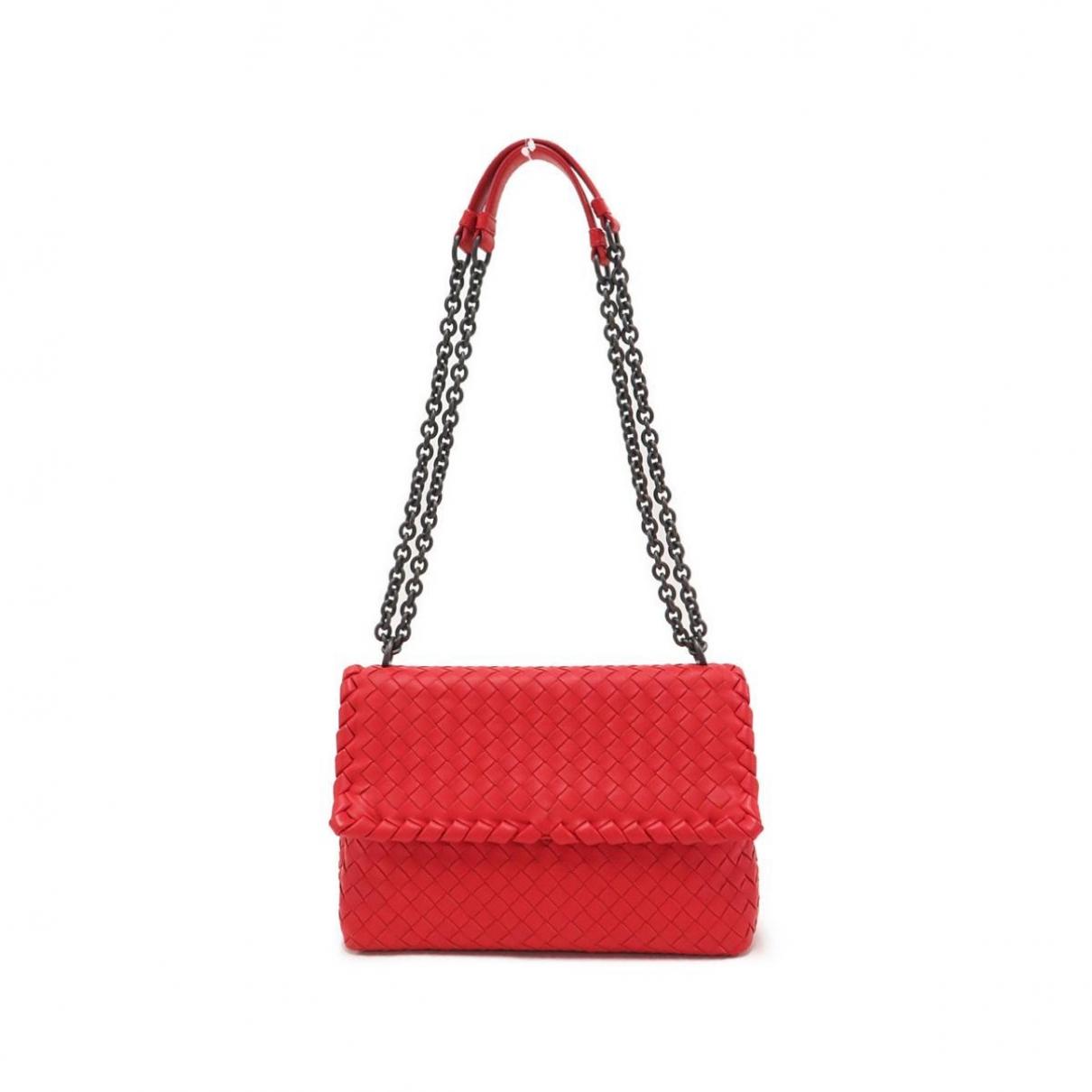 Bottega Veneta Olimpia Red Leather handbag for Women \N