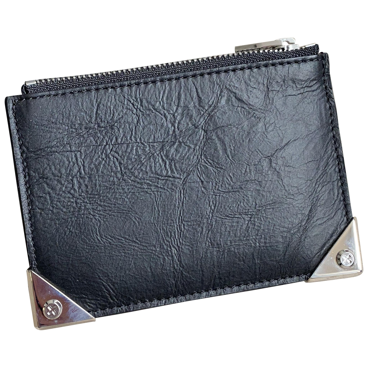 Alexander Wang \N Black Leather wallet for Women \N