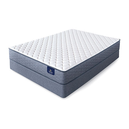 Serta Sleeptrue Galinda Firm - Mattress + Box Spring, One Size , White