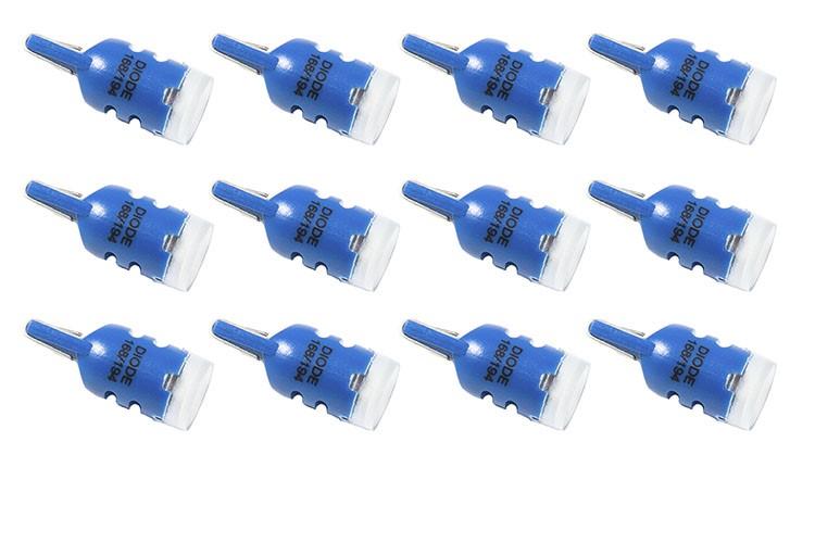 Diode Dynamics DD0019TW 194 LED Bulb HP3 LED Blue Set of 12