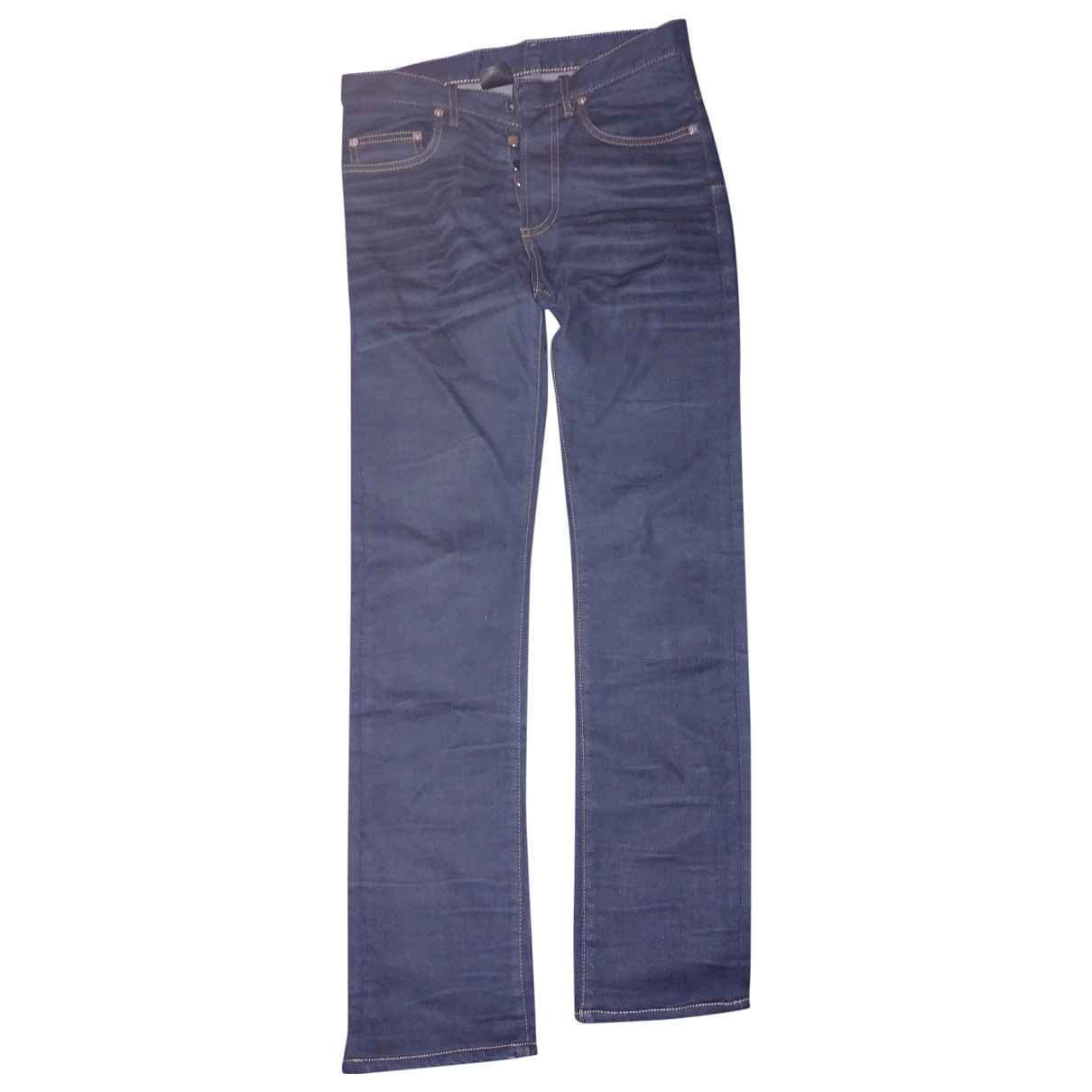 Dior Homme \N Blue Cotton - elasthane Jeans for Men 28 US