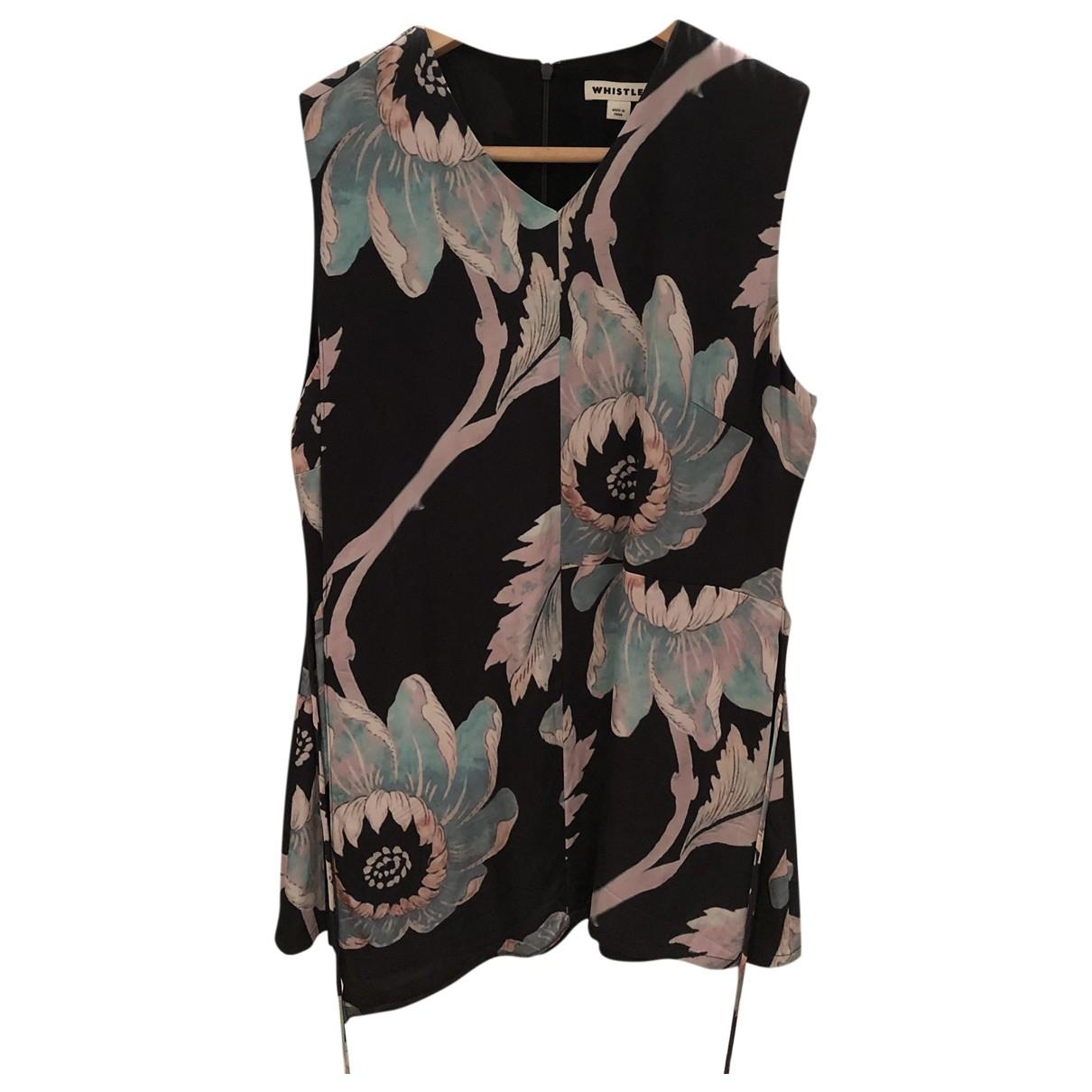 Whistles \N Black  top for Women 10 UK