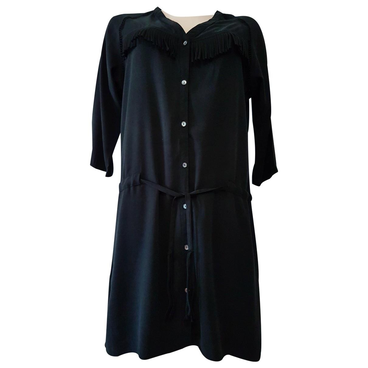 Maison Scotch \N Black Cotton dress for Women 2 0-5